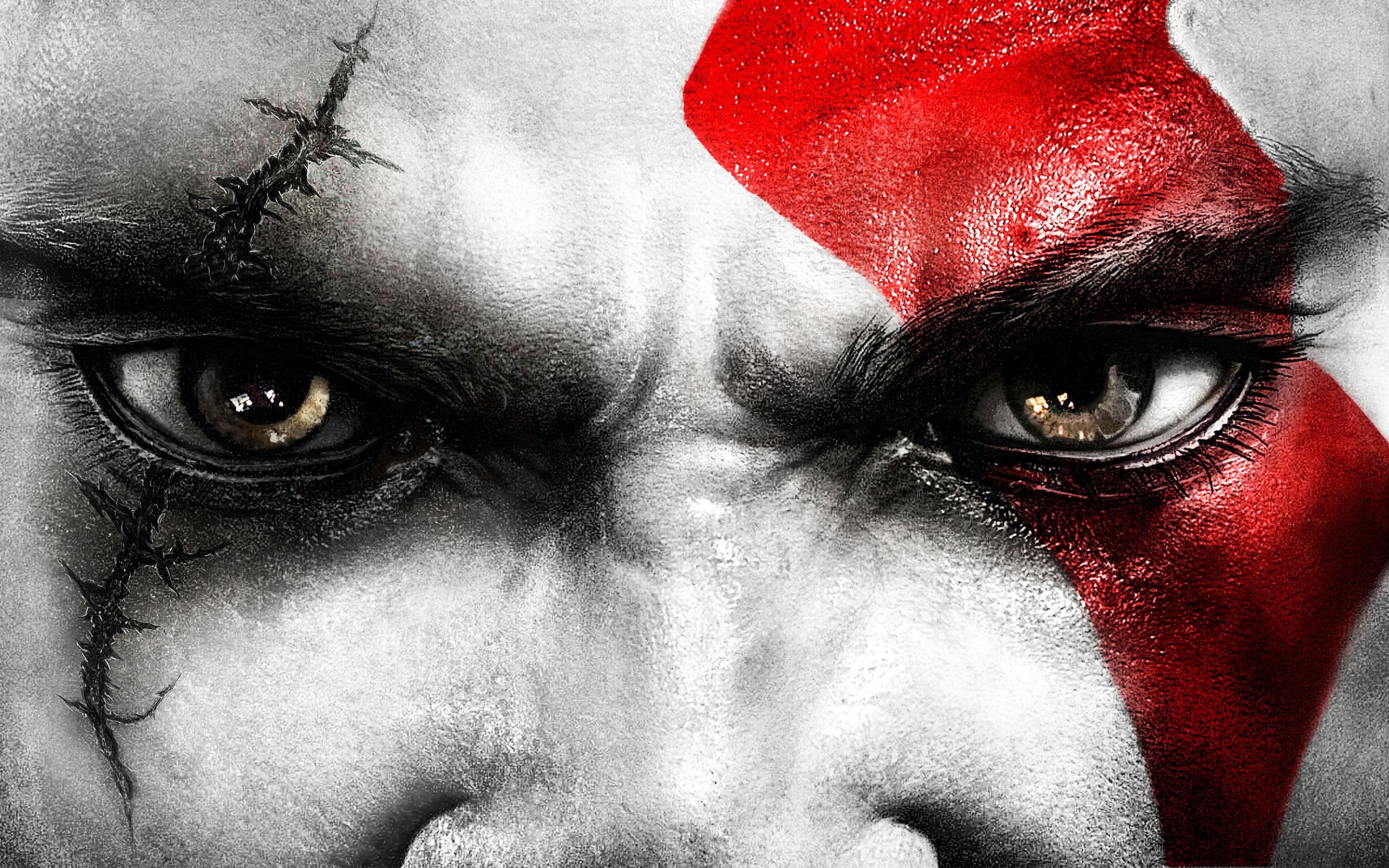 Eyes Kratos Eyes Wallpapers Hd Wallpapers Kratos God Of War God Of War New Gods