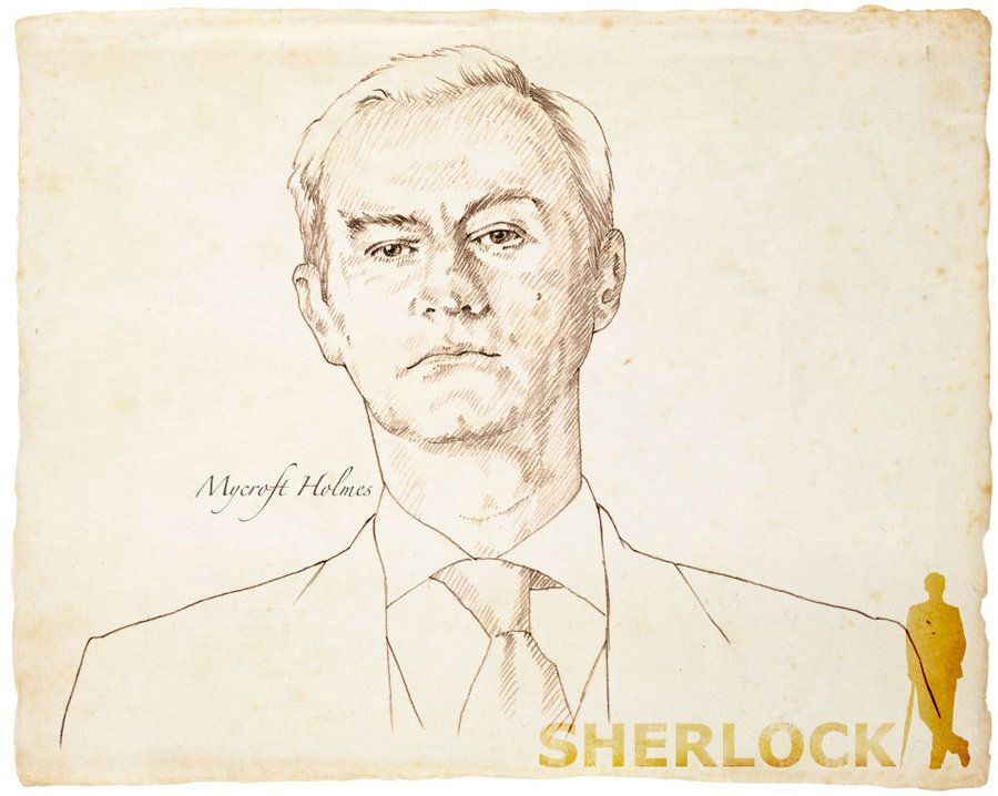 Mycroft Holmes2 by 403shiomi.deviantart.com on @deviantART