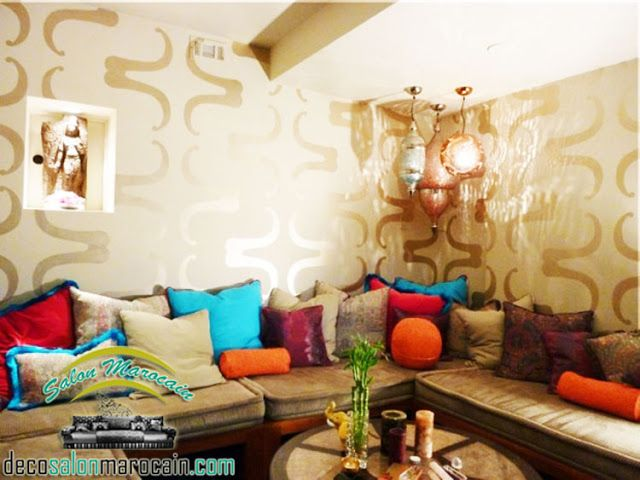 les 25 meilleures id es de la cat gorie salon marocain pas cher sur pinterest tapis salon pas. Black Bedroom Furniture Sets. Home Design Ideas