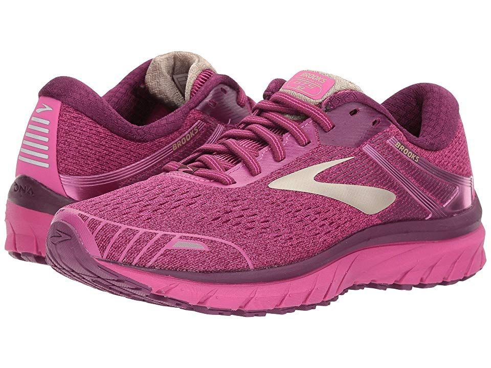 3e00c2143d6 Brooks Adrenaline GTS 18 (Pink Plum Champagne) Women s Running Shoes. With