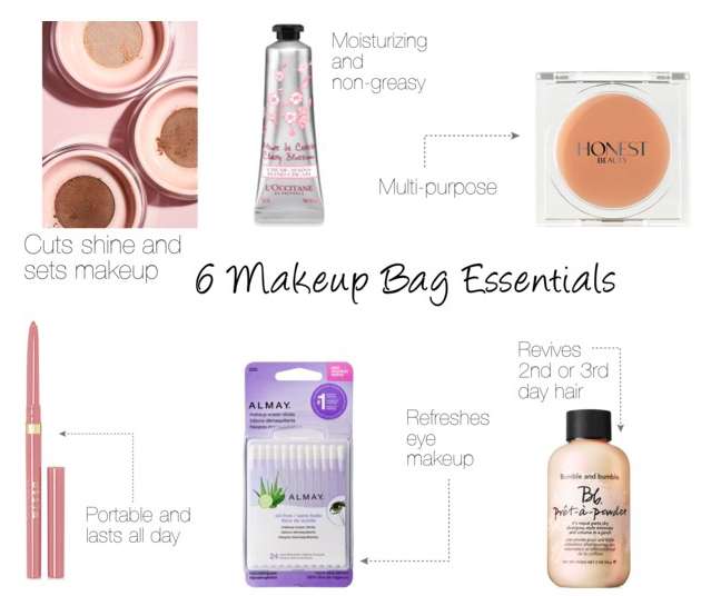Guest Post 6 Makeup Bag Essentials The Work Edit by