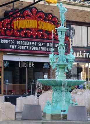 Pin By Butler University Office Of Un On Indianapolis Indianapolis Indiana Fountain Square Indiana Travel
