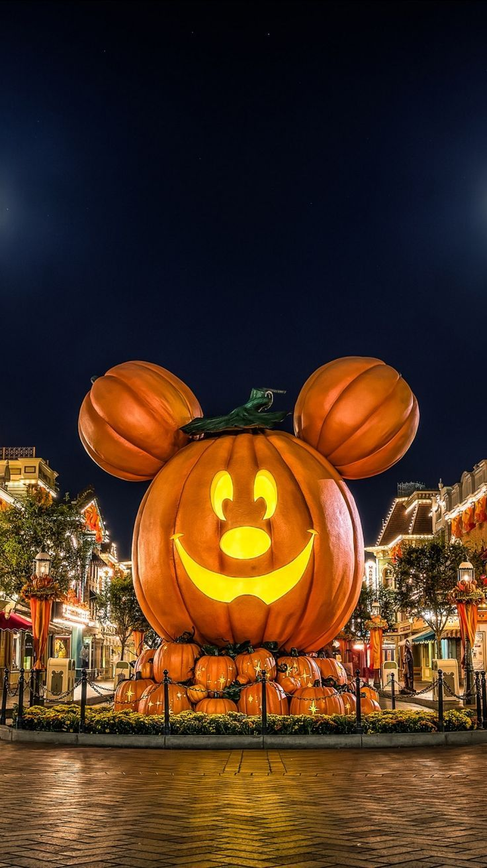 , mickeyThanksgivingWallpaper in 2020 Halloween
