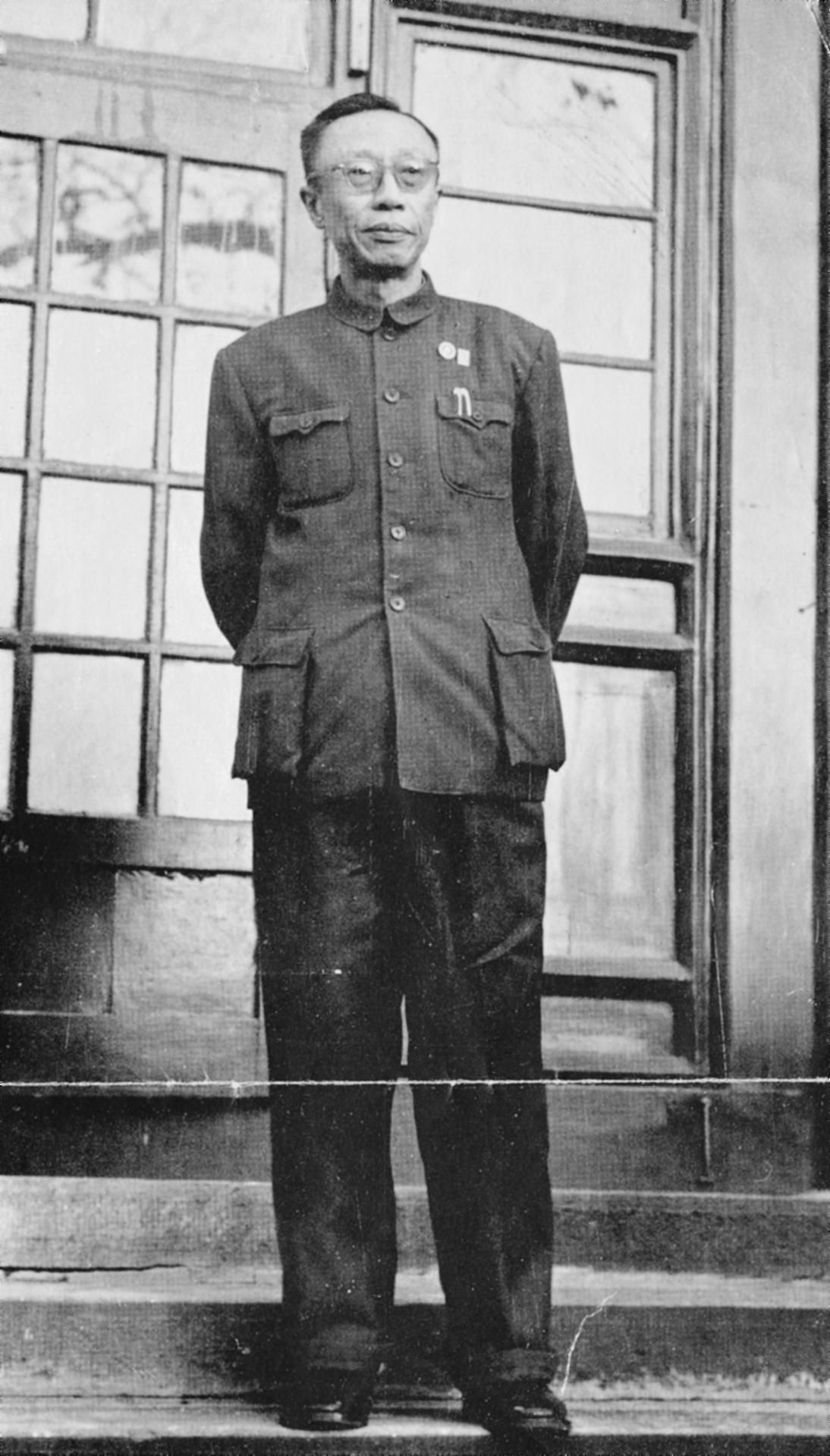 Puyi, the last Emperor of the Qing Dynasty, working for ...