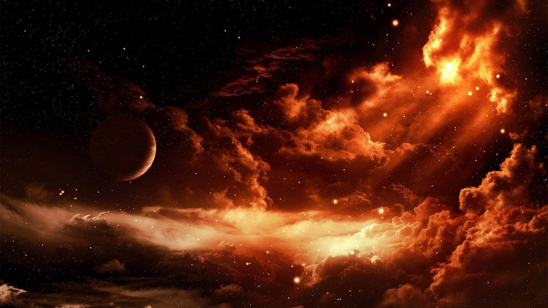 アート写真 赤のスペース 星 壁紙 19x1080 壁紙ダウンロード 星 壁紙 アート写真 デスクトップの背景