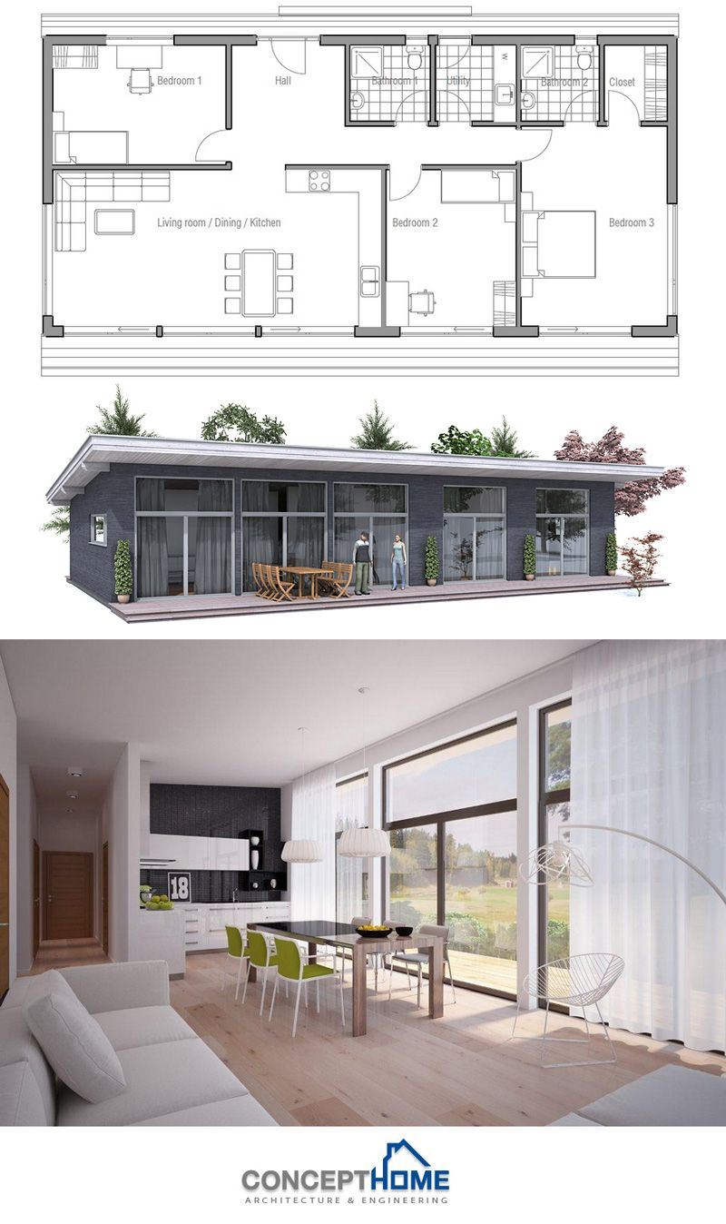 Small House Ch64 Small House Design Architecture Modern Small House Design Modern Architecture House