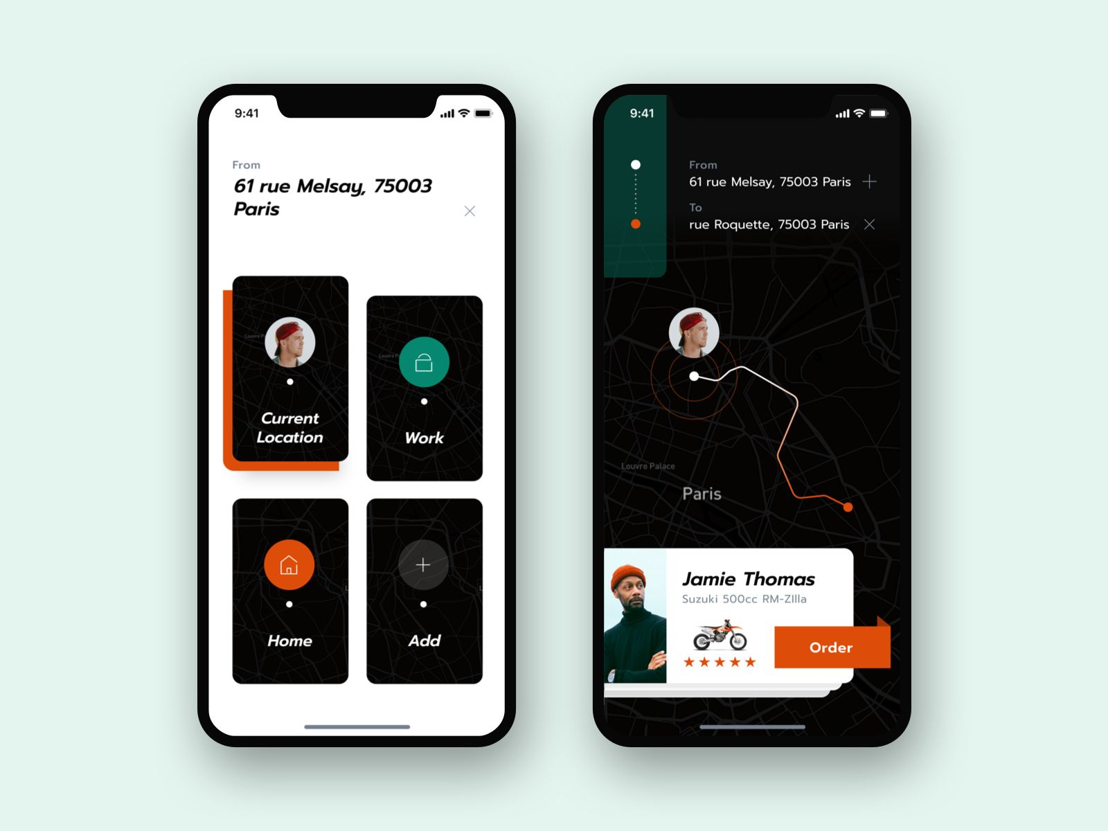 Transport App Concept