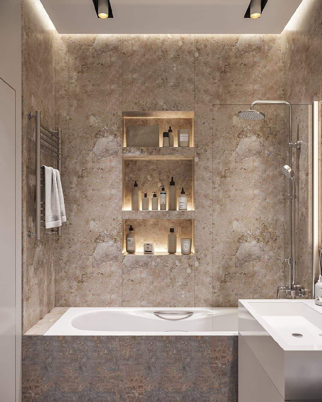 25 Minimalist Small Bathroom Ideas Feel The Big Space Pandriva Bathroom Design Small Small Space Bathroom Design Small Bathroom