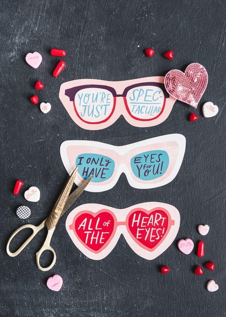Printable Valentine Sunglasses - The House That Lars Built