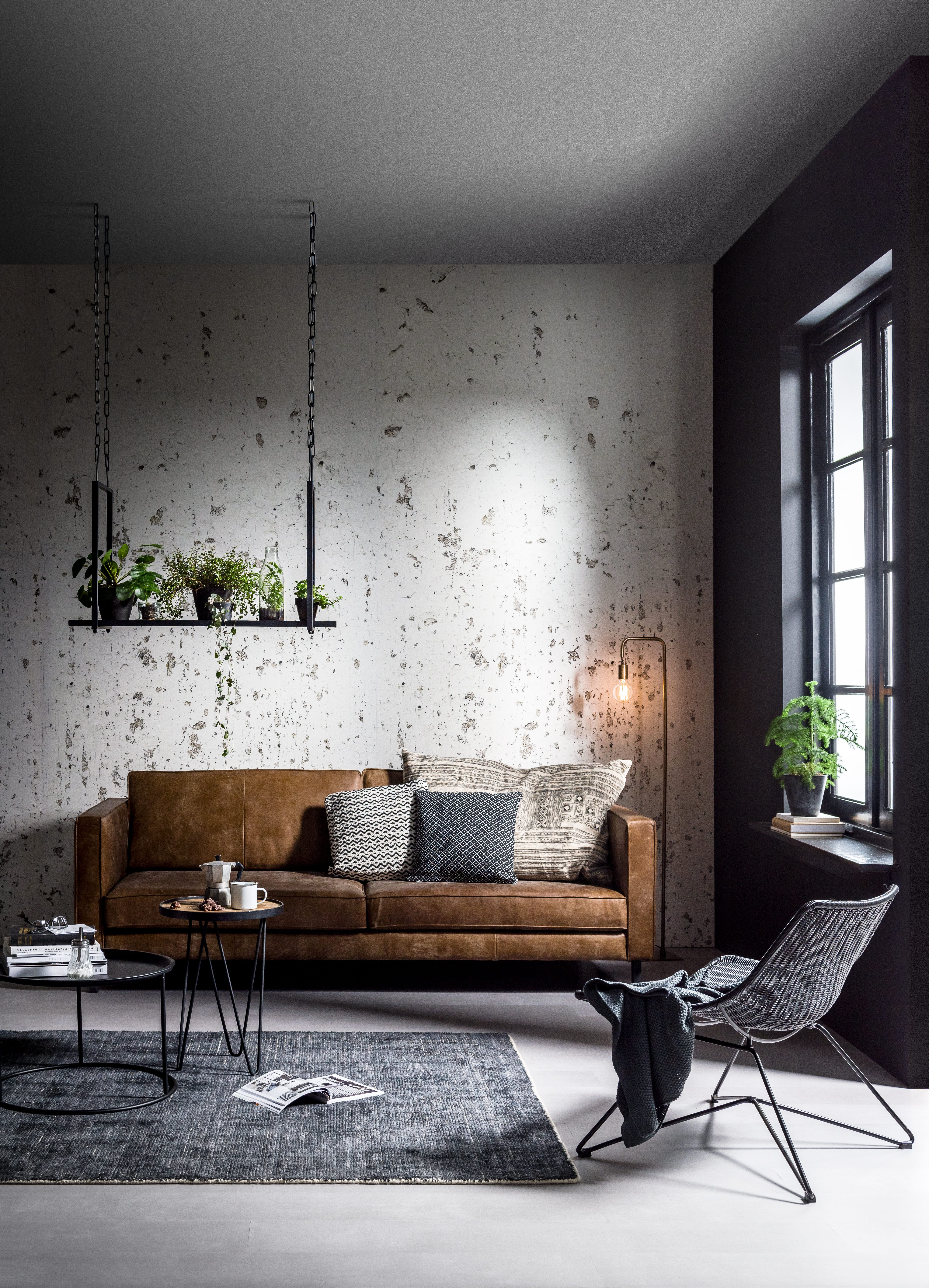 Modern Wallpaper Designs For Living Room: Creëer Je Eigen Basic Industrial Interieur Met Ons Nieuwe