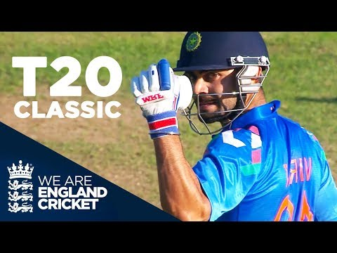 T20 Classic Goes Right Down To The Wire England V India 2014 Highlights Youtube Tours Of England Cricket Videos England
