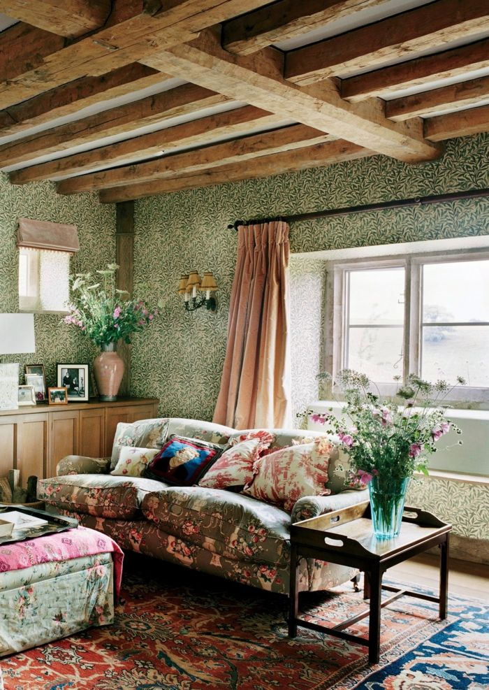 1001 id es pour cr er la parfaite d co maison de campagne decoracion d co maison de - Deco maison rustique ...