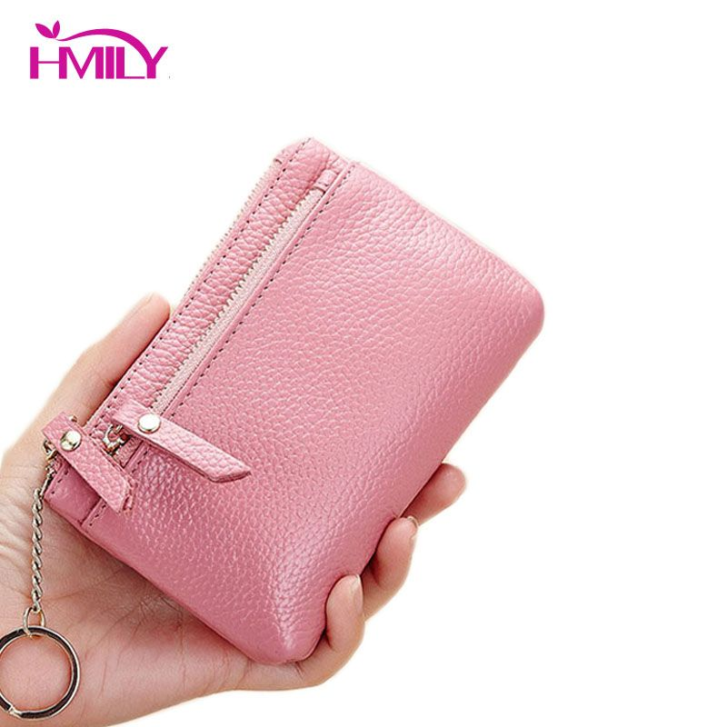 97662539edef13 HMILY Genuine Leather Coin Purse Sweet Pattern Female Wallets Five Colour  Card Holder Ladies Mini Ladies Clutch Change Bag #>=#>=#>=#>=#> Click on the  pin ...