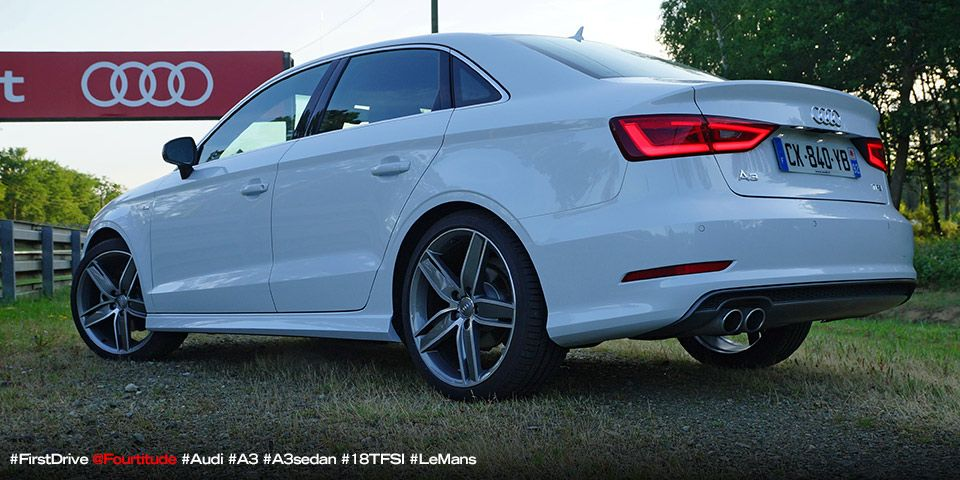 Driven 2014 Audi A3 1 8 Tfsi S Line Berline In Le Mans France Fourtitude Com Audi Audi A3 Sedan