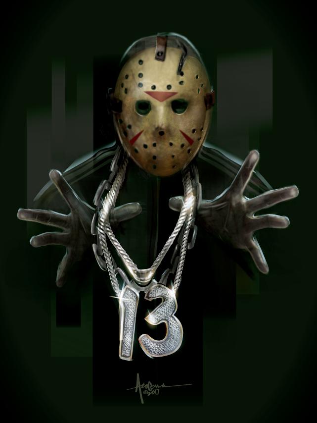 Jason Friday 13th Bboy Orlando Arocena Vectorart Png Horror Movie Art Horror Villians Horror Art