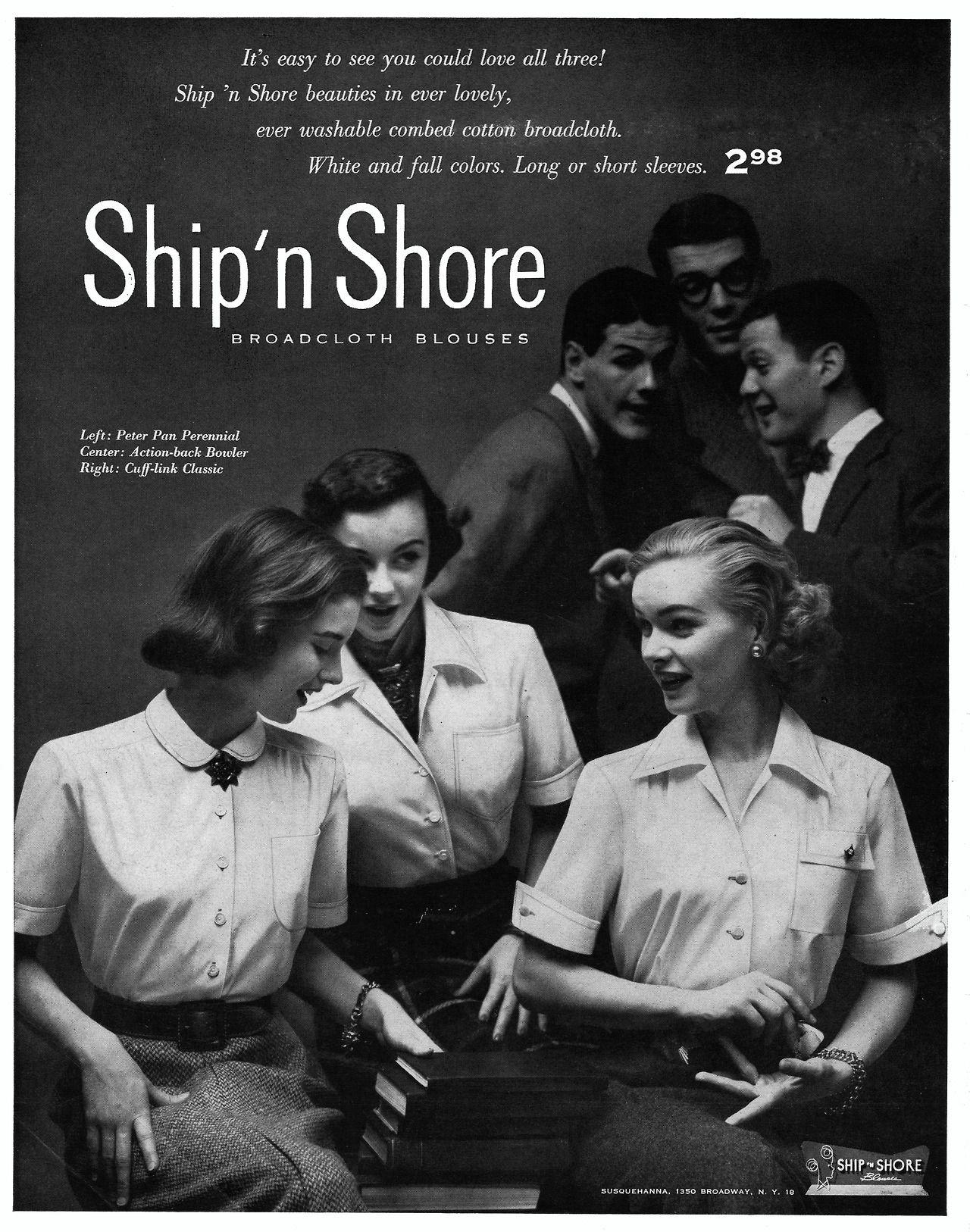 Ship 'n Shore Blouses, 1951