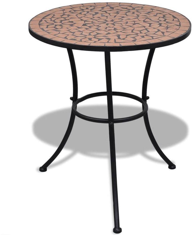 Garden Balcony Round Table Coffee Outdoor Patio Dinning Ceramic