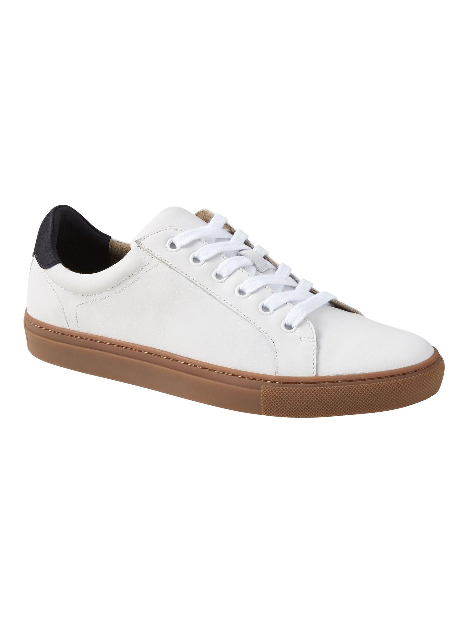 Nicklas Leather Sneaker | Banana
