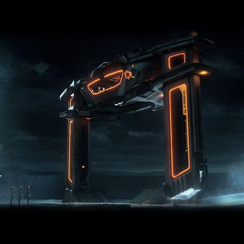 Tron Legacy Recognizer Hover