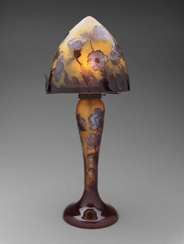 Galle Table Lamp Foter Art Glass Table Lamp Art Glass Lamp Lamp