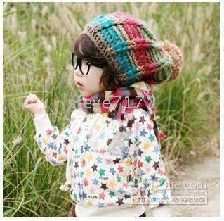BB Bear hoeden meisjes breien hoed beanie jongens 'muts baby gehaakte mutsen muts baretten Hat dicers CL783