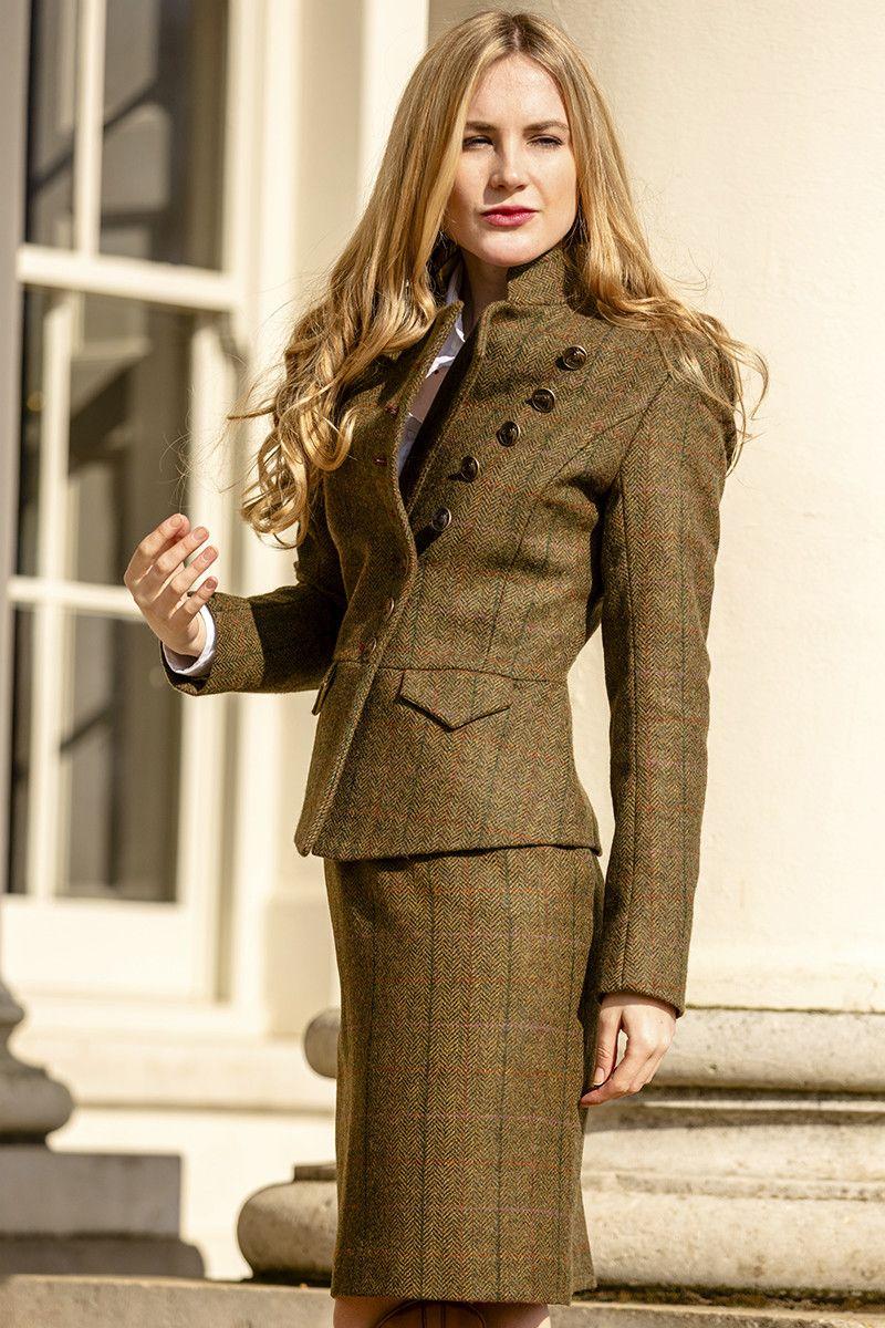 Lieutenant Jacket (Kilda tweed)