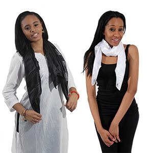 Poly-Satin Striped Scarf $1.95 Cover up in style with this poly-satin striped scarf. C-A171 #scarf