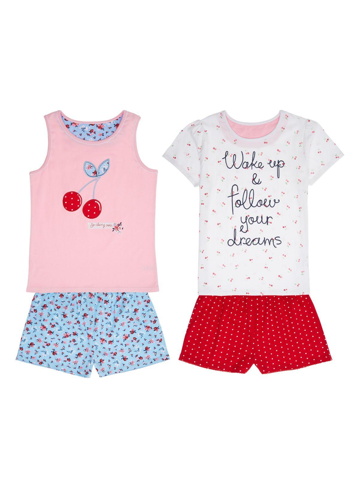 White apron sainsburys - 3 12 Years Tu At Sainsburys Girls Pink Cherry Pyjamas 11