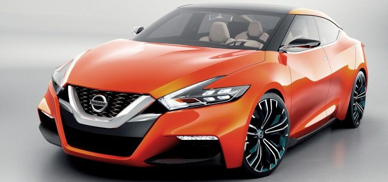Future Nissan Maxima Concept 3 5 In Lower Roof 2 1 In Wider Stance Official Debut Car Revs Daily Com Nissan Sports Cars Nissan Maxima Sports Sedan