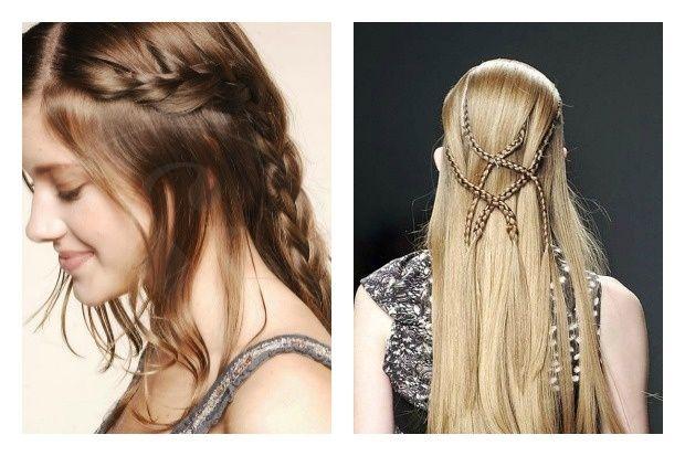 Las mejores variaciones de peinados medievales Fotos de cortes de pelo tendencias - trenzas 2016 de moda | Hair styles, Hair wrap, Beauty
