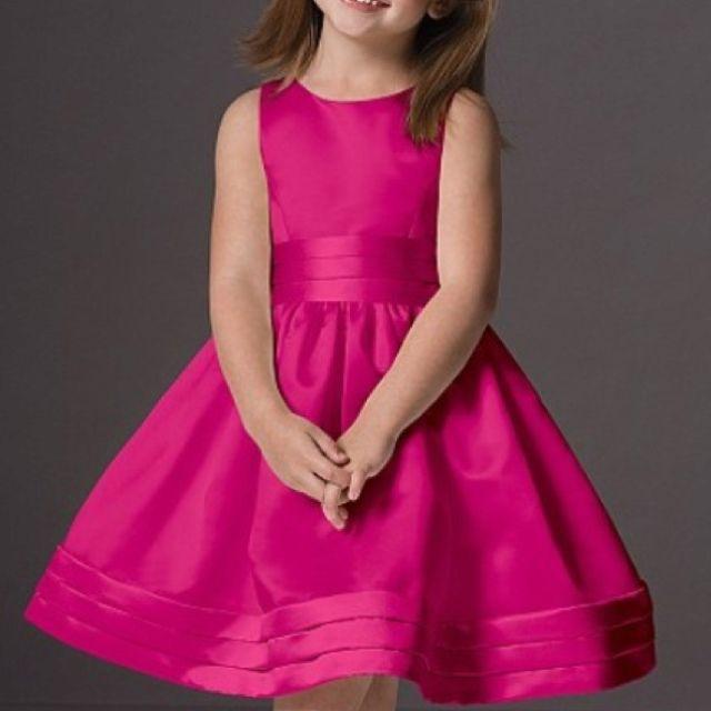 Flower girl dress in fuschia | Fuschia Flower Girl Dress ...