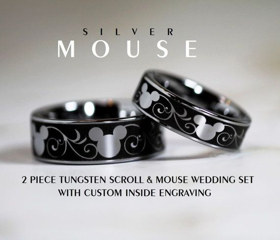 about disney wedding bands completed with millions images for make your perfect wedding find disney wedding bands and wedding bands wedding ideas - Mickey Mouse Wedding Ring