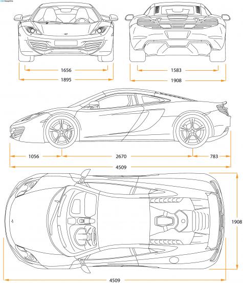 Mclaren mp412c coupe blueprint car blueprints pinterest mp4 mclaren blueprints vector drawings clipart and pdf templates malvernweather Images