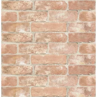 Shop For Wallpaper At Target Find Removable Peel Stick And Self Adhesive Wallpaper In A Variet In 2020 Brick Wallpaper Peel And Stick Wallpaper Red Brick Wallpaper