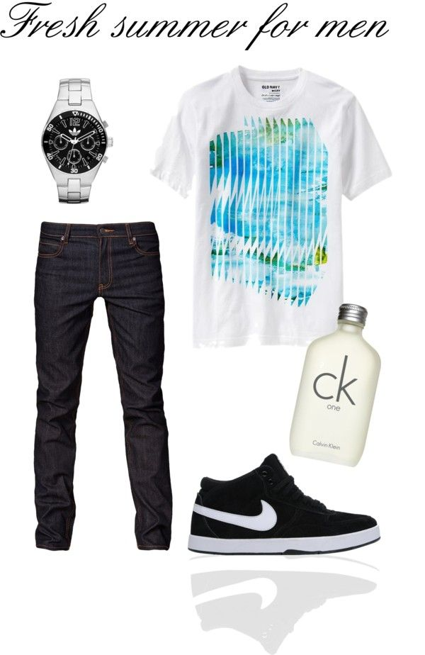 """""""Fresh summer for men - para Gabriel :)"""" by variant on Polyvore"""