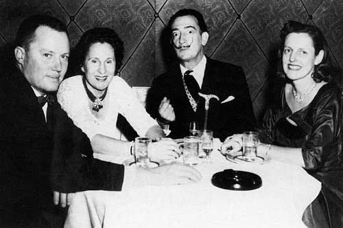 Eleanor Reese Morse (born on October 21, 1912, in Cleveland, Ohio) and her husband A. Reynolds Morse were dear friends of Salvador Dalí and his wife, Gala.