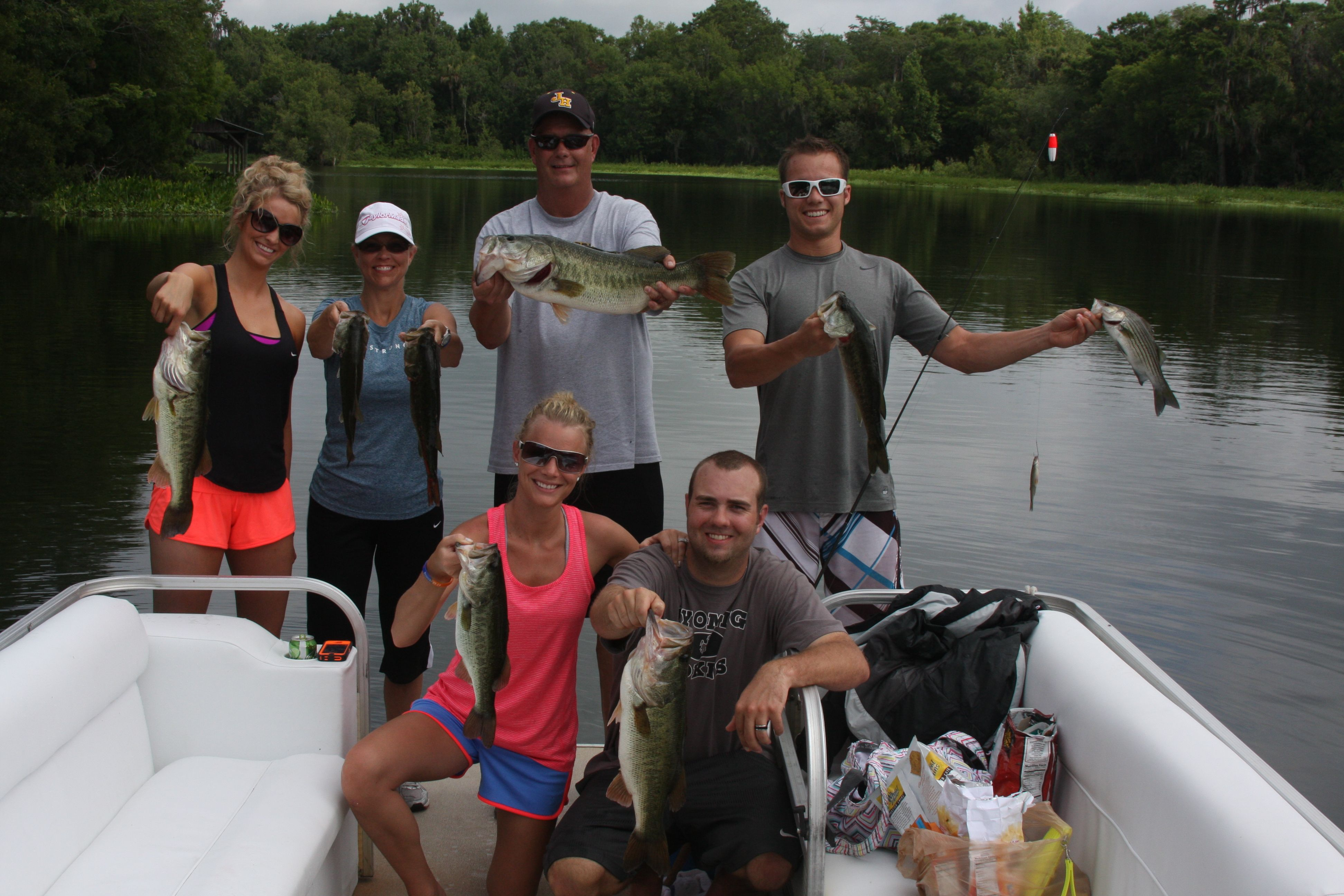 Highland park fish camp can group guided