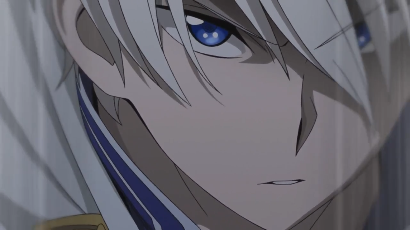Look At This Serious Face He Is So Mad Ahhh Just Look At Him Zen Is All Determined To Protect Snow White With The Red Hair Zen Wisteria Akagami No Shirayuki