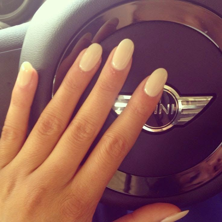 Rounded nails may not be as bold as pointy nails but they come with other  advantages. I searched for this on images - White Round Nails 6. Double Team + Dynamicpunch Knockout White