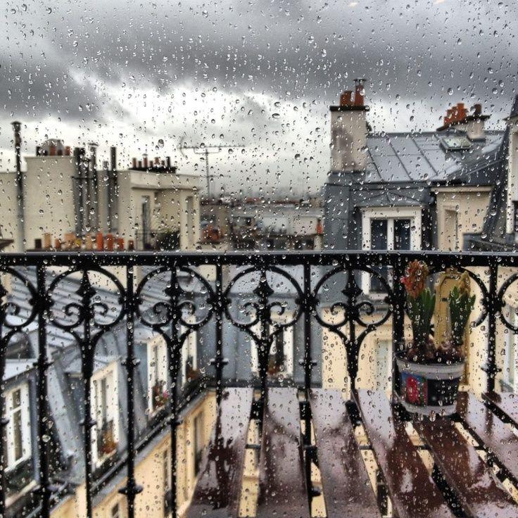 картинки дождя в париже имел только