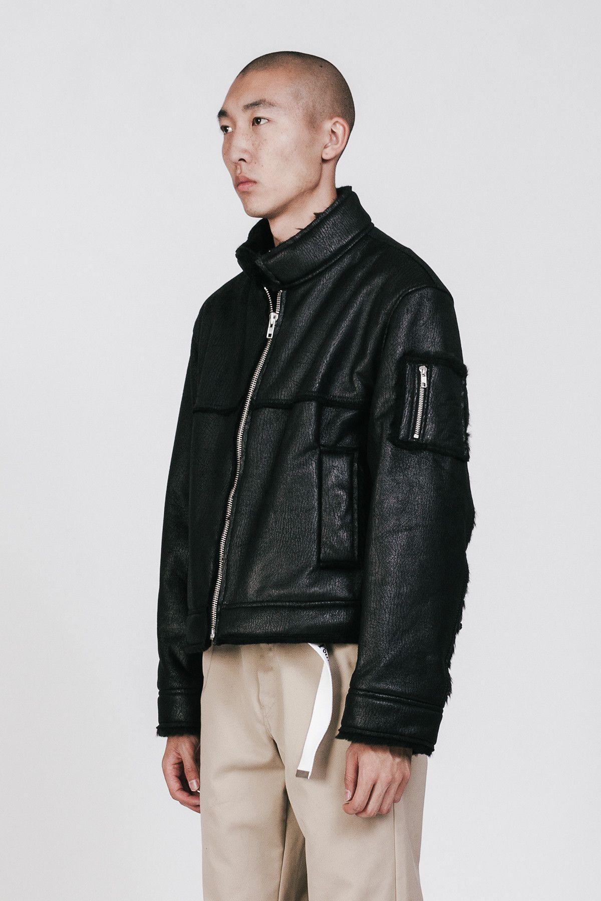 Gosha Sheepskin Short Coat Black | Jackets | Pinterest | Short ...