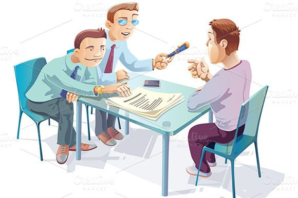 Check Out Signing The Agreement By Leks Illustrations On Creative