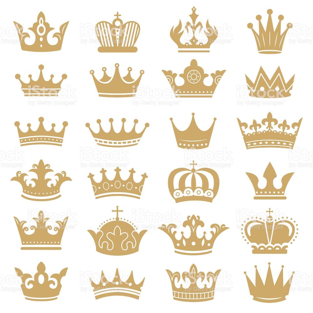 Gold Crown Silhouette Royal Crowns Coronation King And Luxury Queen Crown Silhouette Royal Crowns Queens Tiaras