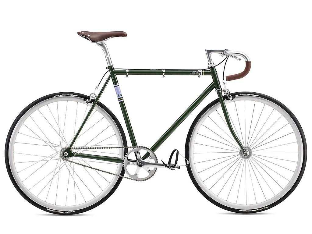 Fuji Feather 2016 Fixed Gear Bike Green
