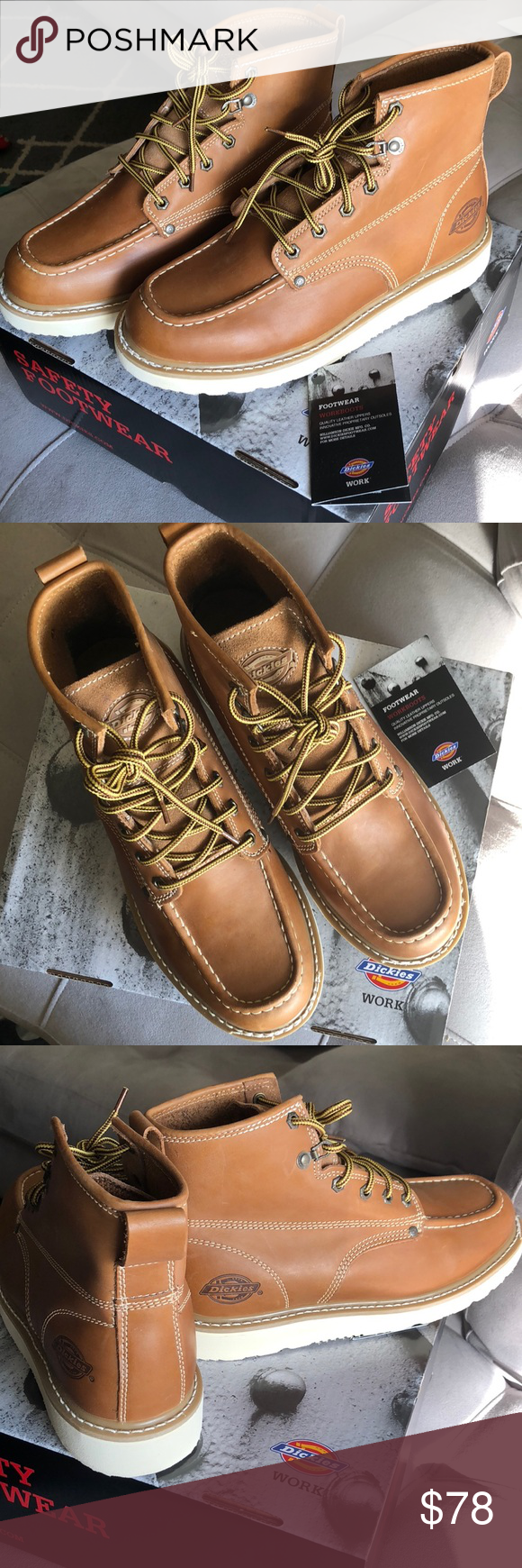 a417d217ce6 Dickies Trader Work Boots Dickies Trader Wedge Bottom Work Boots ...