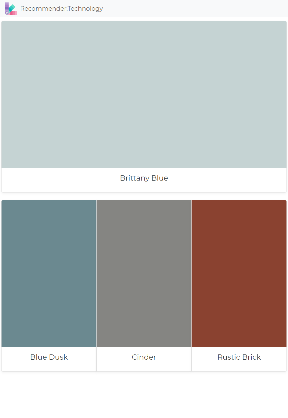 brittany blue blue dusk cinder rustic brick paint on benjamin moore exterior color chart id=14036