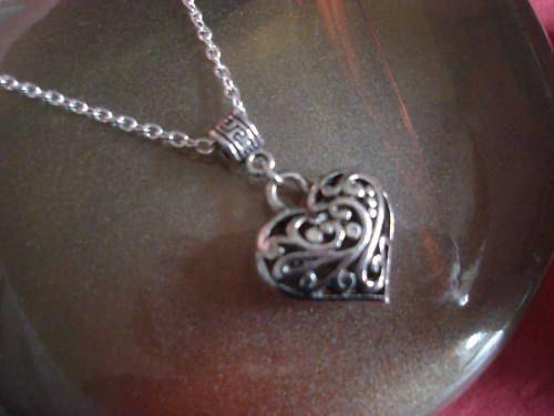 Caroline's Vervain necklace.