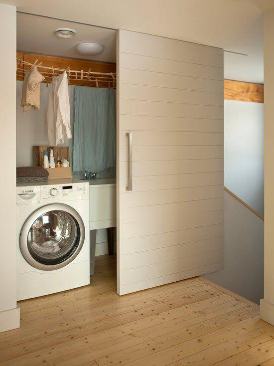 Go Logic Go Home 1500 Sf Prefab Home Laundry Design Small Laundry Rooms Laundry Room