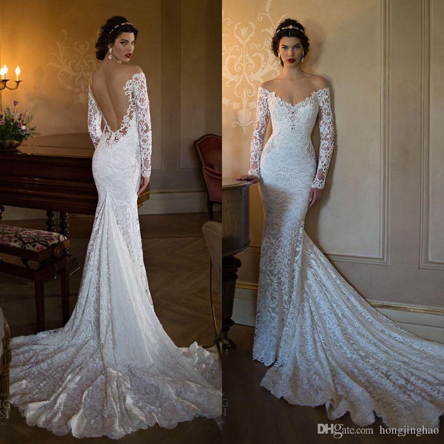 Backless Lace Wedding Dress Wedding Dresses Wedding Dress Sleeves [ 900 x 900 Pixel ]