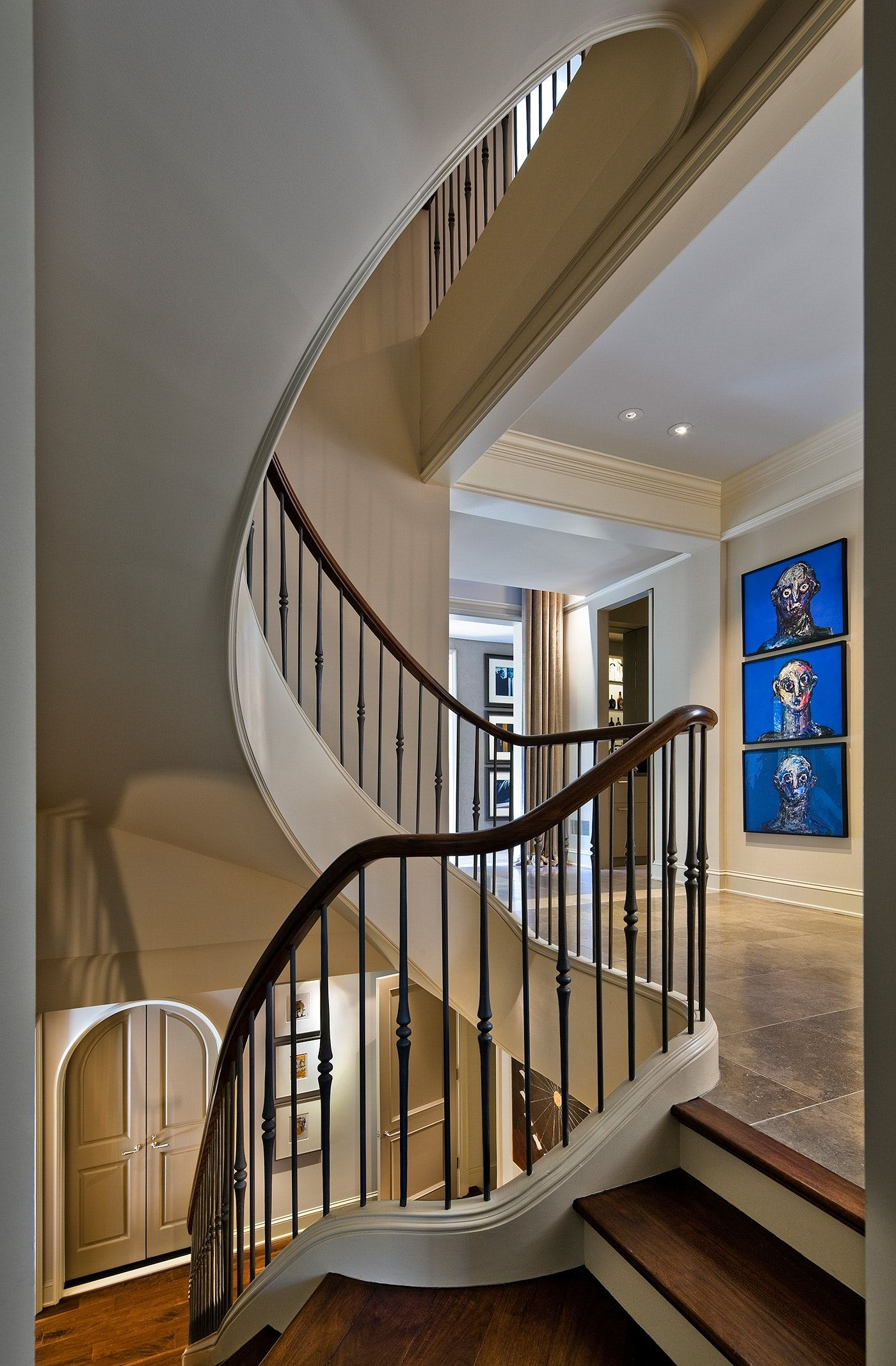 Hudson Hideaway Staircase Architect Modern Home Interior